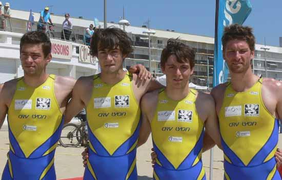 Arnaud Drouin, David Hertzig ,Audric Lambolez et Sébastien Court